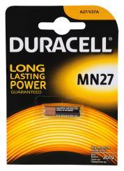 Duracell Batterie 27A, MN27, 12V