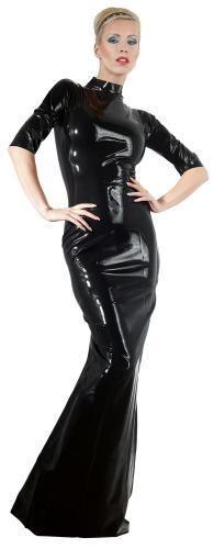 Latex-Kleid S