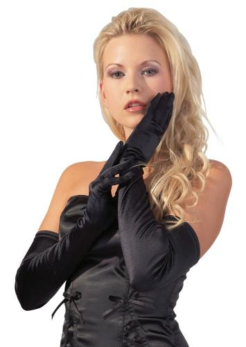 Satin-Handschuhe