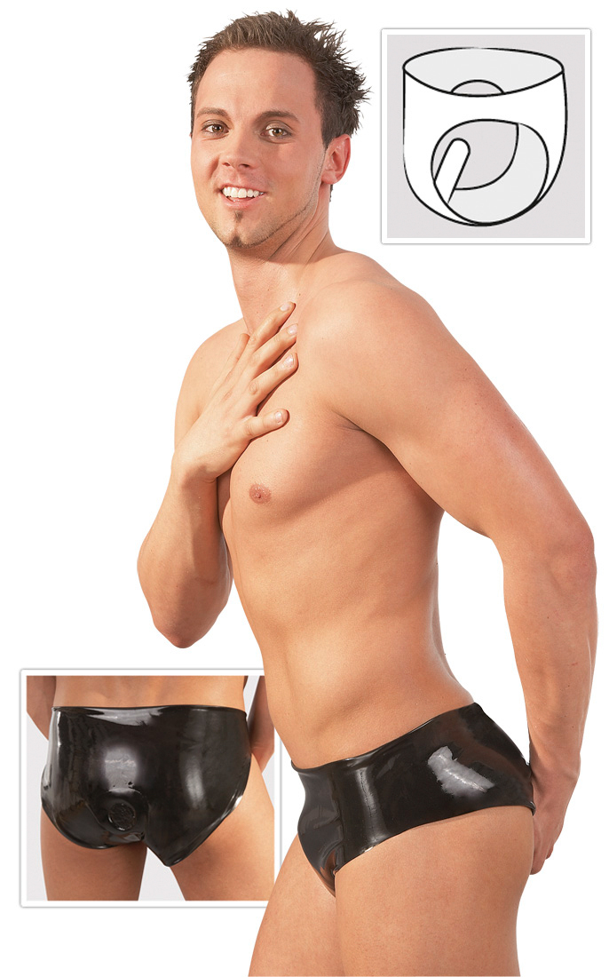 Unterhose mit dildo