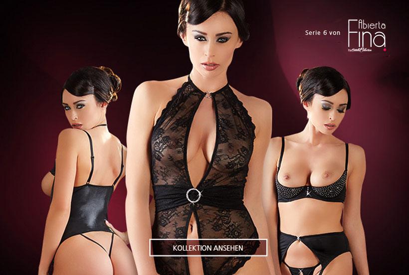 Neue Erotikwäsche von Abierta Fina